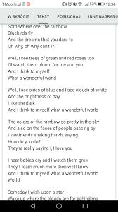 When the lyrics to