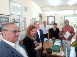Επίκσκεψη της γ.γ του Υπουργείου Παιδείας Α. Γκικα στο Εξεταστικό ...