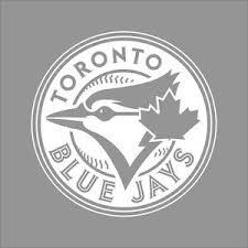 Toronto Blue Jays Mlb Team Logo 1 Color Vinyl Decal Sticker Car Window Wall Ebay