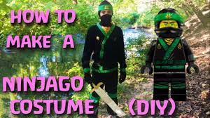 Make Your Own Green Ninja Costume! (DIY) - YouTube