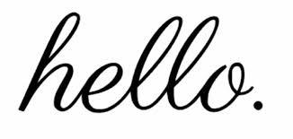 Hello Front Door Vinyl Decal Wall Art Decor Sticker Black Or White 4 X 10 For Sale Online Ebay