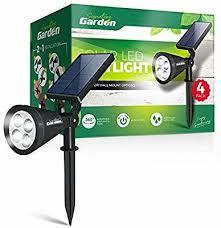 garden led solar garden spotlights