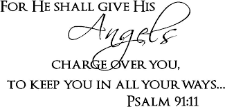 Buy Psalm 91 11 Vinyl Wall Art For He Will Command His Angels Concerning You To Guard You In All Your Ways In Cheap Price On Alibaba Com
