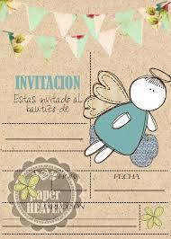 Invitaciones Para Bautizo Nina Y Nino Invitaciones Bautizo Nino