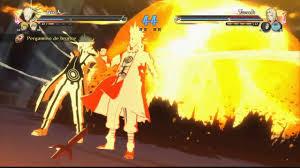 Gameplay padre e Hijo los 2 Hokages 9 colas Naruto Shippuden ...