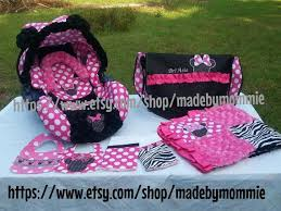 minnie mouse infant car seat cover