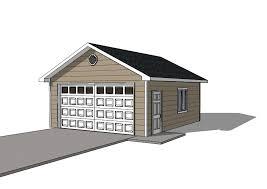 Detached Garage Plans 20x22 Garage Single Door Icreatables Com