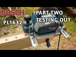 Bosch Planer Pl1632 Part Two Assembly And Testing Youtube