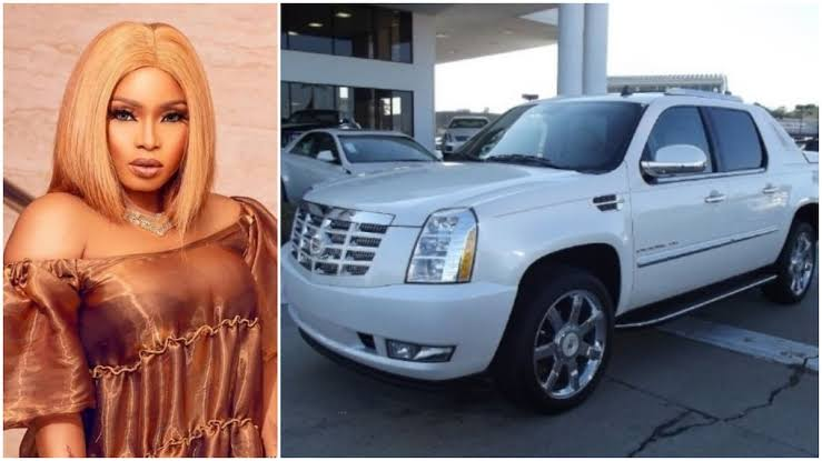 Image result for Halima Abubakar buys a new whip, an Escalade EXT worth millions Read more: https://www.legit.ng/1271141-halima-abubakar-buys-a-whip-escalade-ext-worth-millions.html""
