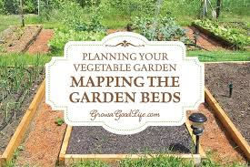 planning your vegetable garden mapping