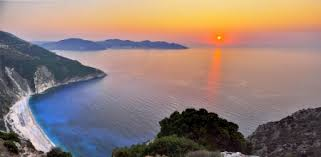 sunset at kefalonia island 1920x1080