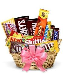 sweetest candy gift basket