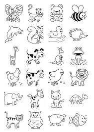 Afbeeldingsresultaat Voor Tekeningen Met Verschillende Dieren