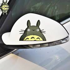 Volkrays 2 X Car Accessories Cartoon Lovely Totoro Rearview Sticker Decal For Motorcycle Volvo Xc90 S60 S80 S40 V50 Xc70 V40 Car Stickers Aliexpress