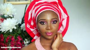 nigerian bridal makeup gele tutorial