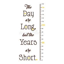 Kids Height Ruler With A Quote For Wall Decals Wall Stickers Vector Stock Vector Illustration Of Measure Sticker 163973447