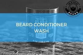 beard conditioner wash major beard
