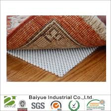 non slip rug pad for area rugs over