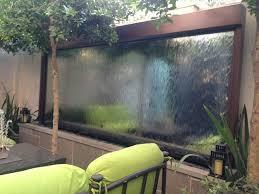 custom outdoor mirror water feature