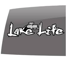 Lake Life Kayak Outdoors 5 Year Outdoor Vinyl Sticker Decal Slomo Swag Apparel Stickers And More