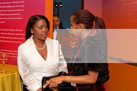 Priscilla Stewart-Jones with Barbara Williams