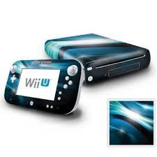 Nintendo Wii U Console And Gamepad Decal Skin Abstract Blue Spectrum Nintendo Wii U Console Wii U Disney Party