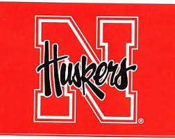 Huskers Wall Decal Etsy