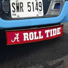 University Of Alabama Decals License Plate Alabama Crimson Tide Auto Accessories Shop Cbssports Com