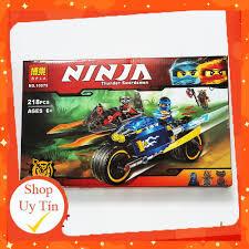 Mua 🔥HOT🔥 [ ĐỒ CHƠI LEGO GIÁ RẺ ] Đồ chơi Lego Xếp hình Lego Ninjago Bela  10579 Bộ lắp ráp Xe máy của Jay [ ảnh thật ] chỉ 209.000₫
