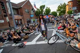 Hundreds Gather In Jamaica Plain And Roslindale As Vigils And Protests  Continue | WBUR News