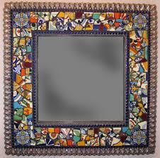 25 best ideas about tile mirror frames