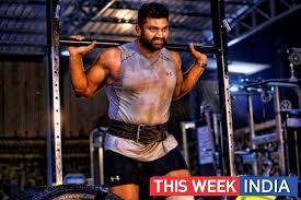 ace powerlifter raghu hondadakeri roped