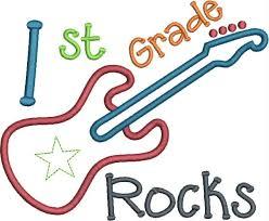 First Grade Rocks free image