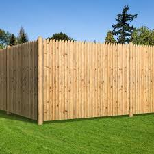 Unbranded 6 Ft X 8 Ft Cedar Doweled Pro Stockade Fence Panel 405801 The Home Depot