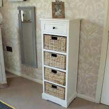 basket wicker bathroom furniture