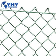 China Factory Wholesale High Quality Top Kunckle Chain Link Mesh Fence For Sale China Chain Link Fence Used Chain Link Fence