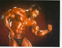 AARON BAKER Bodybuilding Color Muscle Photo | eBay