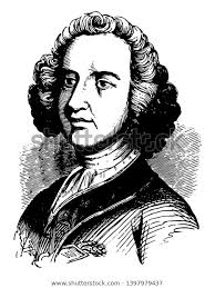 Sir William Johnson C1715 1774 He Stock Vector (Royalty Free ...