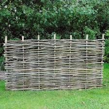 Hazel Hurdle Fence Panel 6ft X 4ft Cerex Fence Panels Crop Pictures Outdoor Structures