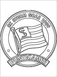 Sk Sturm Graz Logo Kleurplaat Gratis Kleurplaten