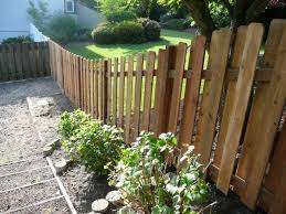 Instructions To Build Fences On A Slope Backyard Fences Sloped Yard Backyard Landscaping