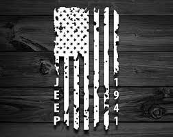 Distressed Vertical American Flag Jeep Decal Vinyl Decal Car Decal Truck Decal Logo America Usa Jeep Flag Flags Unite Jeep Decals Jeep Jeep Life