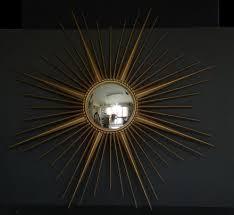 mirrors vintage metal 1960 s convex