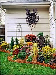 small perennial garden design with