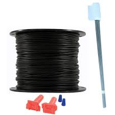 Heavy Duty Pet Fence Wire And Flag Kit 1 000 Feet Rfa 1000