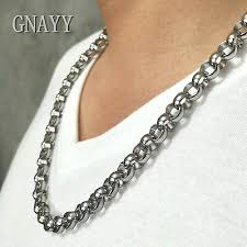 rolo chain necklace mens