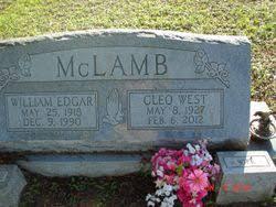 Mrs Cleo West McLamb (1927-2012) - Find A Grave Memorial