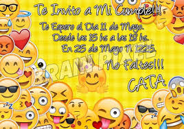Emojis Emoticones Tarjetas Cumpleanos Fiesta Infantil X 24 240
