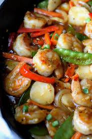 Shrimp with Hot Garlic Sauce