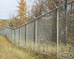 Barbed Wire Overhang Chain Link Products Fence All Ottawa On